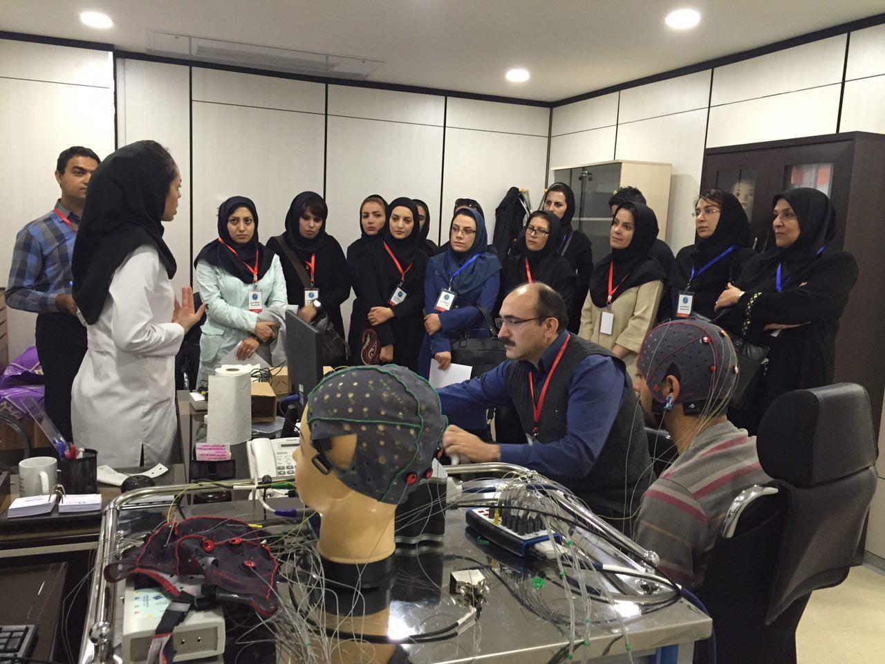 بازدیدهای انجام شده از  آزمايشگاه