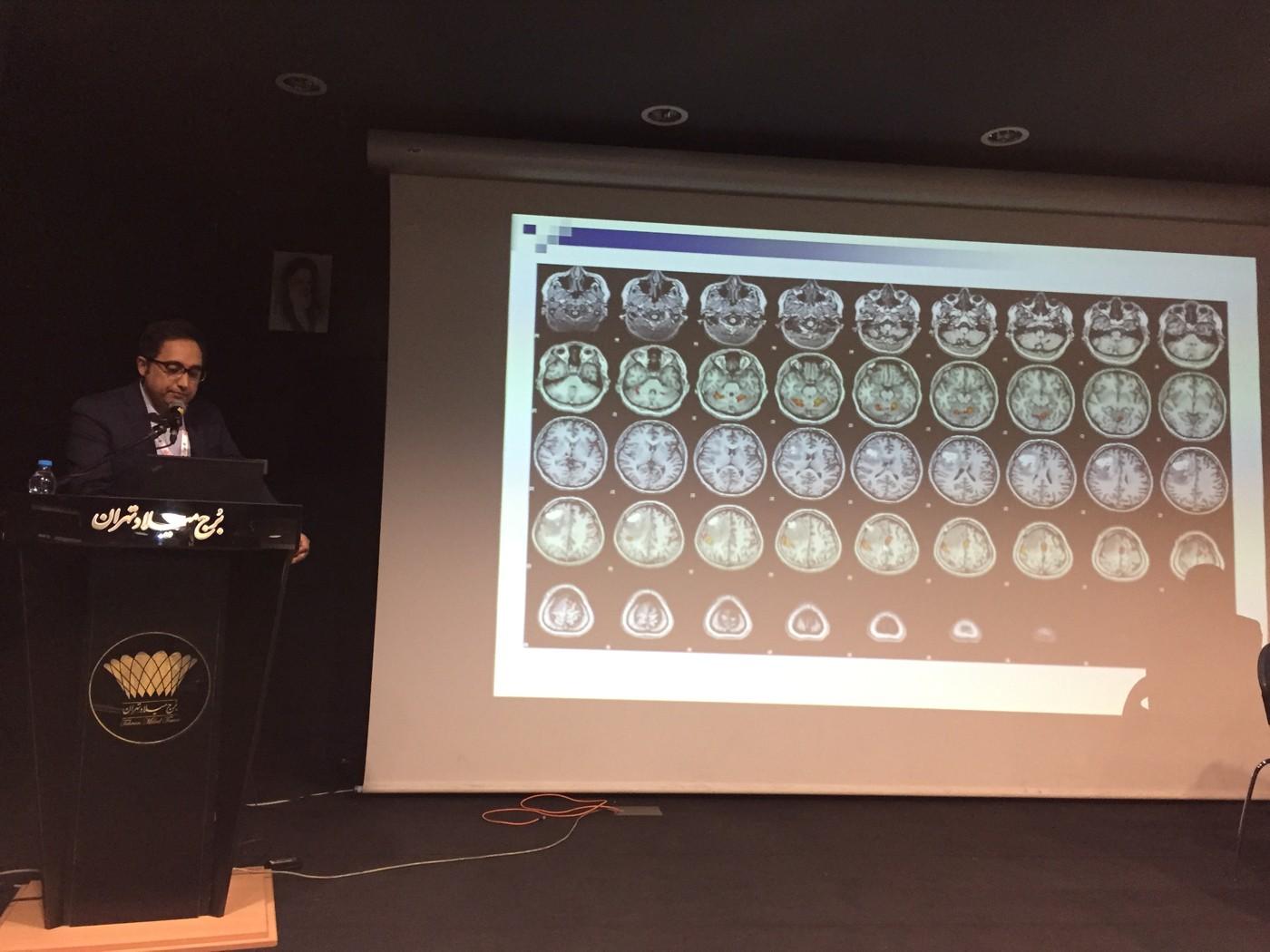 پنل آزمایشگاه ملی نقشه برداری مغز در سی و سومین کنگره رادیولوژی ایران، ۲۲ اردیبهشت ماه ۱۳۹۶