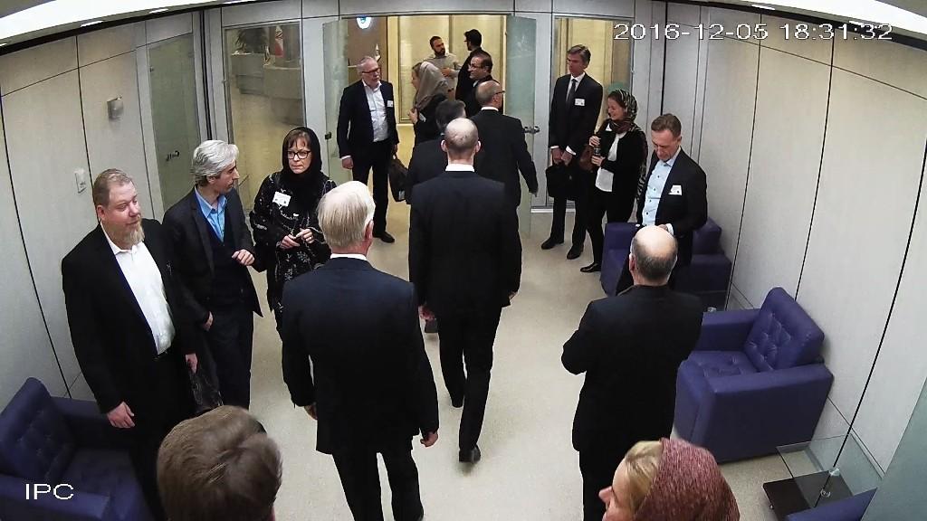 بازدید هیئت سوئدی از آزمایشگاه ملی نقشه برداری مغز