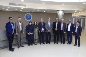 بازدید و جلسه با نمایندگان سازمان برنامه و بودجه در آزمایشگاه ملی نقشه برداری مغز