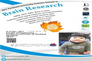 آزمایشگاه ملی نقشه برداری مغز حامی برگزاری مدرسهی پاییزهی Brain Reseach 2017 دانشگاه فردوسی مشهد