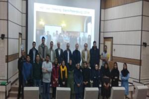 سمینار نورومارکرهای کاربردی برای تشخیص و درمان بیماریهای روانی در شیراز  برگزار شد.