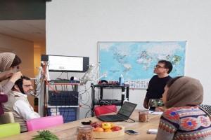 حضور کارشناسان آزمایشگاه ملی نقشه برداری مغز در دورهی آموزشی پیشرفتهیfNIRS ، در کشور هلند