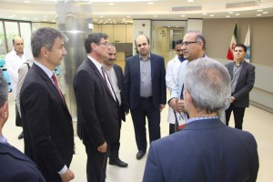 Science Minister and Ambassador of Switzerland, and Head of Tehran University, Dr. Mahmoud Nili Visited NBML on May 2018