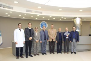 Visit of the NBML by the Head of Research and the Vice President of Research of Shahid Beheshti University